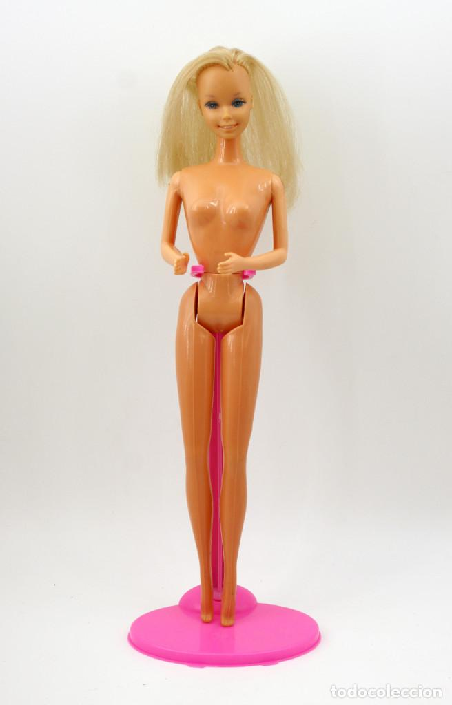 Barbie y Ken: ANTIGUA BARBIE SUPERSTAR - MARCADA CONGOST MATTEL EN ESPALDA - TODA DE ORIGEN - Foto 3 - 142296630