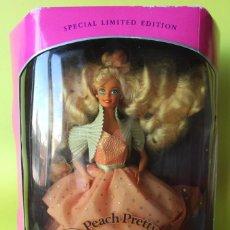 Barbie y Ken: BARBIE MATTEL PEACH PRETTY 1989 SPECIAL LIMITED EDITION. EDICIÓN ESPECIAL LIMITADA. NUEVA EN CAJA . Lote 142734014