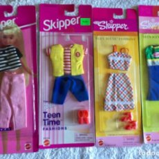 Barbie y Ken: BARBIE TEEN SKIPPER. LOTE DE ROPA. Lote 142745526