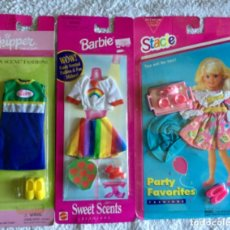 Barbie y Ken: BARBIE SKIPPER STACIE LOTE DE ROPA. Lote 142745822