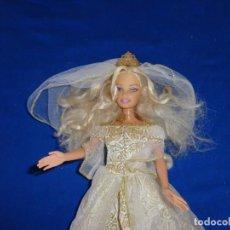 Barbie y Ken: BARBIE - BONITA BARBIE DE LA PELICULA MAGIA DE PEGASO,NOVIA, AÑO 1998 COMO NUEVA VER FOTOS! SM. Lote 144792346