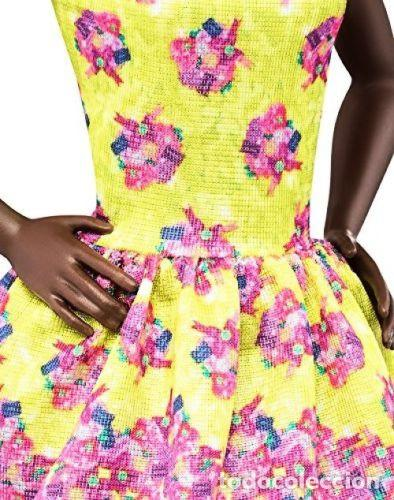 Barbie y Ken: BARBIE FASHIONISTA 2015 FANCY FLOWERS AFRICANA Nº 20-MATTEL-NUEVA EN SU CAJA Y DIFICIL - Foto 3 - 144937070