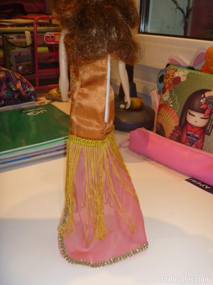 Barbie y Ken: BARBIE MUÑECA ARTICULADA VESTIDO DE GALA Y ABRIGO DISEÑO ESTILO PELÍCULA DISNEY OPORTUNIDAD - Foto 7 - 146674946