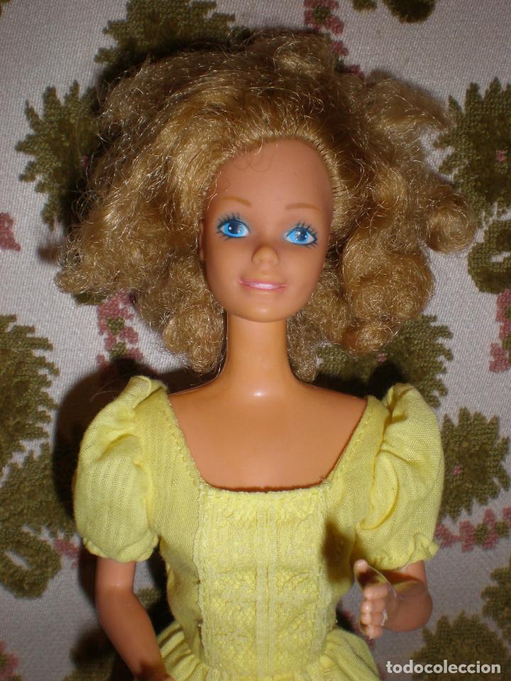 BARBIE MAGIC CURL DEL AÑO 82 CON VESTIDO DE ORIGEN (Juguetes - Muñeca Extranjera Moderna - Barbie y Ken)