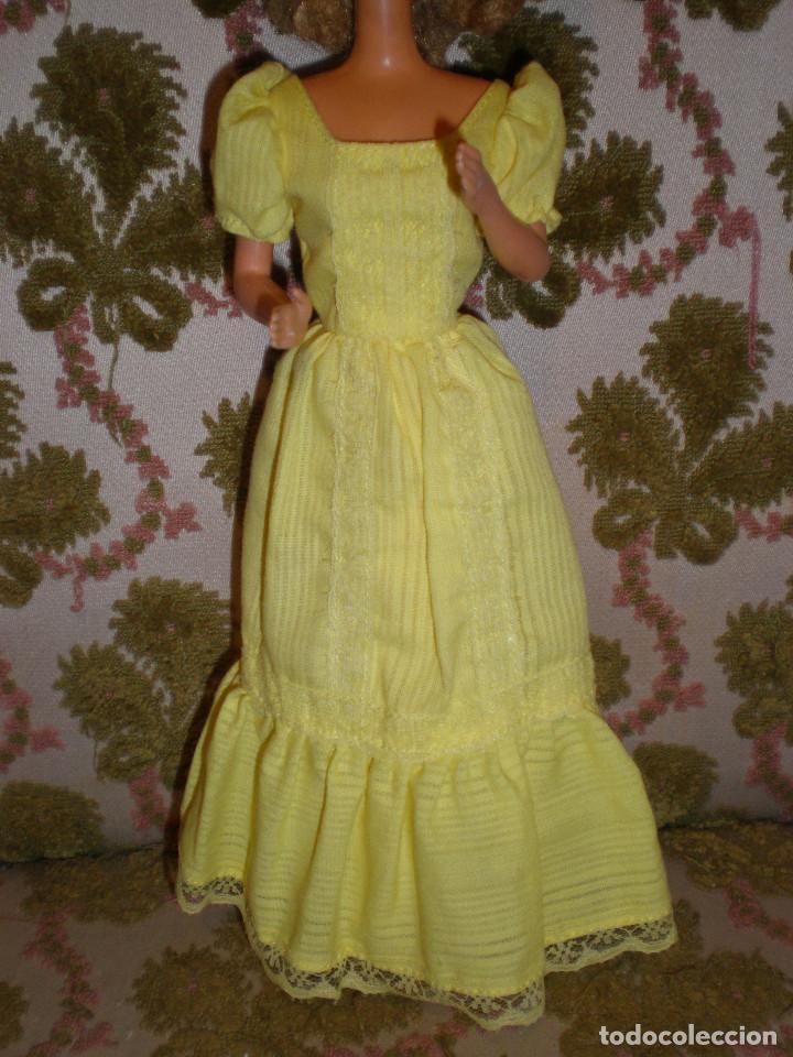 Barbie y Ken: BARBIE MAGIC CURL DEL AÑO 82 CON VESTIDO DE ORIGEN - Foto 4 - 147491474