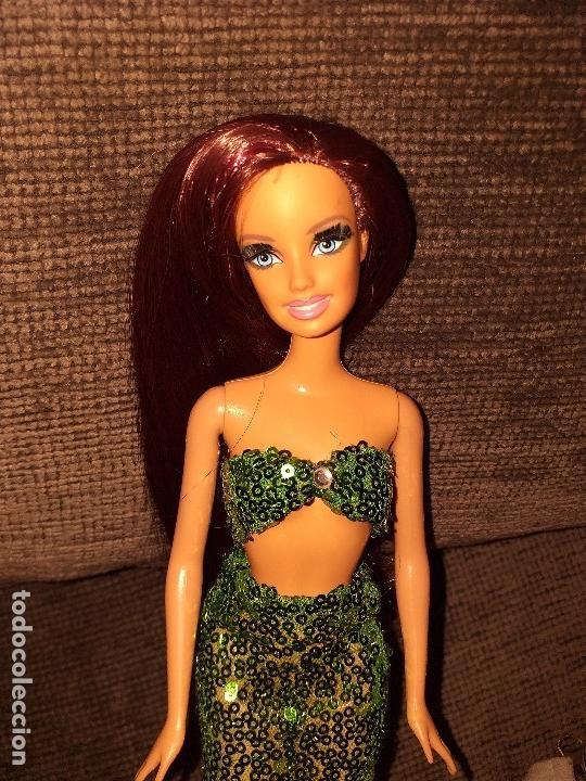 BARBIE REROOT SIRENA (Juguetes - Muñeca Extranjera Moderna - Barbie y Ken)