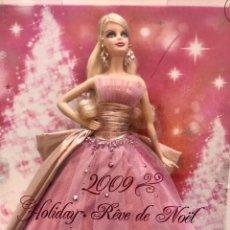 Barbie y Ken: HAPPY HOLIDAY 2009 NUEVA EN SU CAJA. Lote 148912978