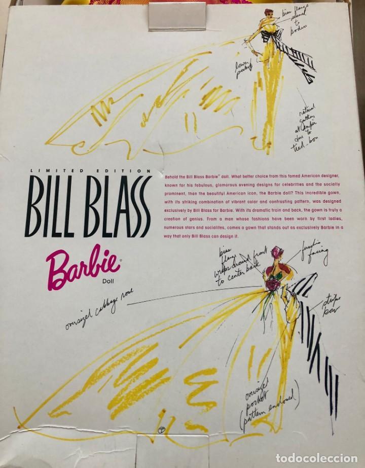 Barbie y Ken: Barbie limited edition. Bill Blass. NRFB - Foto 3 - 148947554