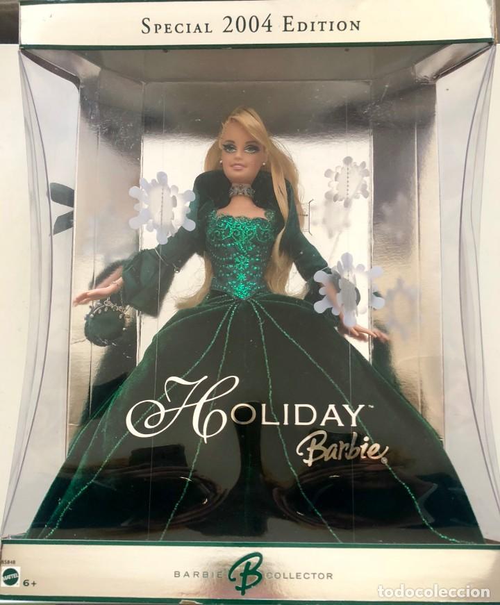 BARBIE HAPPY HOLIDAY SPECIAL 2004 EDITION NRFB (Juguetes - Muñeca Extranjera Moderna - Barbie y Ken)
