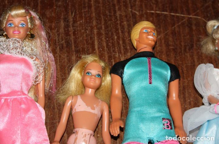 Barbie und Ken: LOTE DE 14 MUÑECAS: BARBIE, SKIPPER, KEN - MATTEL - AÑOS 80 Y 90 - lote nº1 - Foto 11 - 149999146