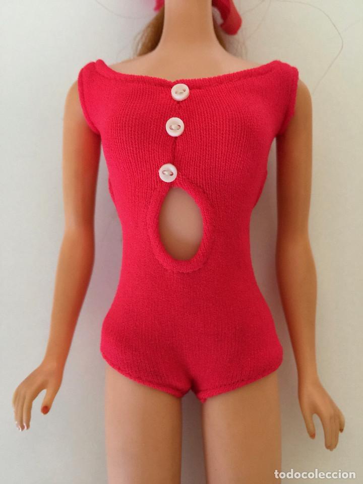 Barbie y Ken: STACEY AMIGA DE BARBIE-MUÑECA VERSION PELIRROJA- MATTEL 1966-1967 VINTAGE-CAJA Y VESTIDO ORIGINAL - Foto 5 - 150376090