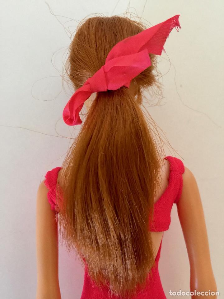 Barbie y Ken: STACEY AMIGA DE BARBIE-MUÑECA VERSION PELIRROJA- MATTEL 1966-1967 VINTAGE-CAJA Y VESTIDO ORIGINAL - Foto 7 - 150376090
