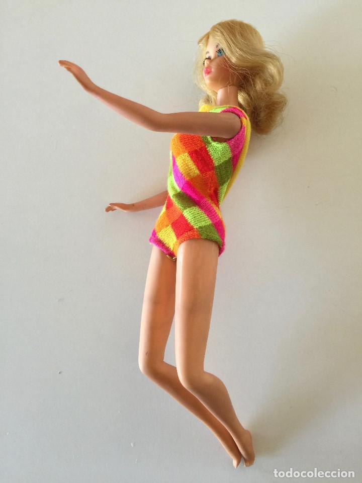 Barbie y Ken: MUÑECA BARBIE RUBIA DE MATTEL 1966-1967 VINTAGE CON VESTIDO ORIGINAL - Foto 15 - 150397250