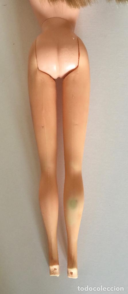 Barbie y Ken: BARBIE RUBIA MATTEL 1965-67 ORIGINAL VINTAGE VESTIDO GALA LAMÉ PAÑUELO LARGO BOLSO GUANTES ZAPATOS - Foto 30 - 150437946