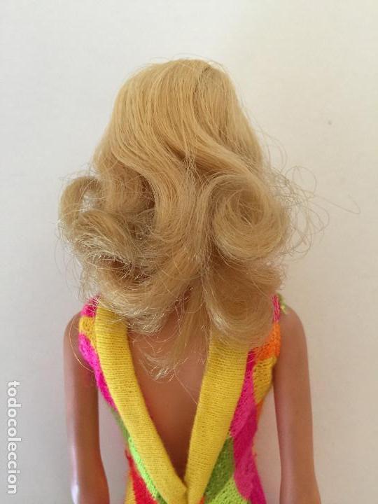 Barbie y Ken: MUÑECA BARBIE RUBIA DE MATTEL 1966-1967 VINTAGE CON VESTIDO ORIGINAL - Foto 11 - 150397250