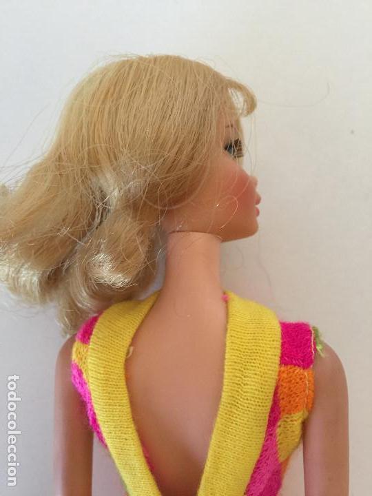 Barbie y Ken: MUÑECA BARBIE RUBIA DE MATTEL 1966-1967 VINTAGE CON VESTIDO ORIGINAL - Foto 12 - 150397250