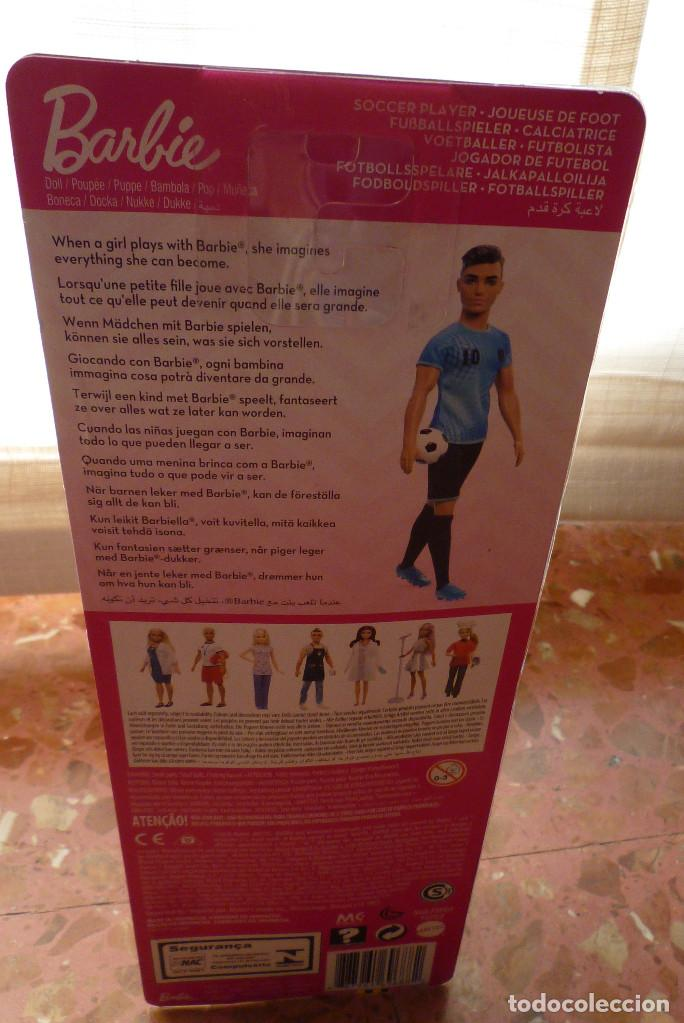Barbie y Ken: MUÑECO KEN FUTBOLISTA CON ACCESORIOS-COLECCION BARBIE QUIRO SER-NUEVO EN CAJA - Foto 5 - 151397038