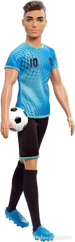Barbie y Ken: MUÑECO KEN FUTBOLISTA CON ACCESORIOS-COLECCION BARBIE QUIRO SER-NUEVO EN CAJA - Foto 4 - 151397038