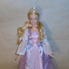 Barbie y Ken: MUÑECA BARBIE DE MATTEL - RAPUNZEL PRINCESA- MECANISMO CRECE PELO FUNCIONANDO . Lote 151960154