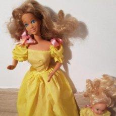 Barbie e Ken: FAMILIA CORAZON ANIVERSARIO MUÑECA BARBIE MAMA Y BEBE MATTEL SPAIN CONGOST. Lote 153546746