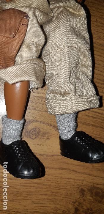 Barbie y Ken: MUÑECO NEGRO TRE FLAVAS MATTEL 2003 CON ROPA DE ORIGEN TAMAÑO BARBIE KEN - Foto 7 - 107827251