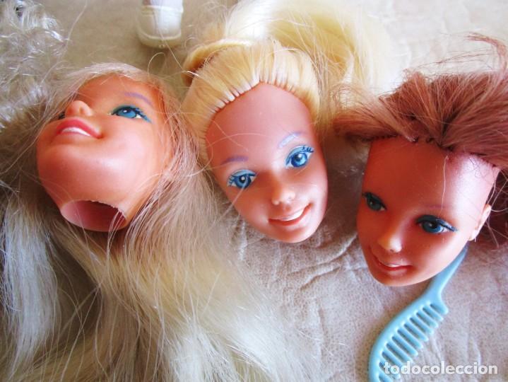 Barbie y Ken: LOTE ROPA BARBIE CONGOST 42 PIEZAS MUCHOS ACCESORIOS 2 KENS 5 CABEZAS BARBIE AÑOS 60 - Foto 22 - 158582596