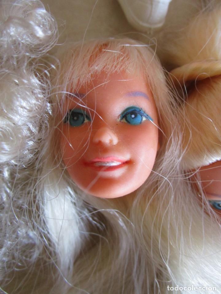 Barbie y Ken: LOTE ROPA BARBIE CONGOST 42 PIEZAS MUCHOS ACCESORIOS 2 KENS 5 CABEZAS BARBIE AÑOS 60 - Foto 23 - 158582596