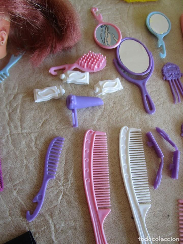 Barbie y Ken: LOTE ROPA BARBIE CONGOST 42 PIEZAS MUCHOS ACCESORIOS 2 KENS 5 CABEZAS BARBIE AÑOS 60 - Foto 27 - 158582596