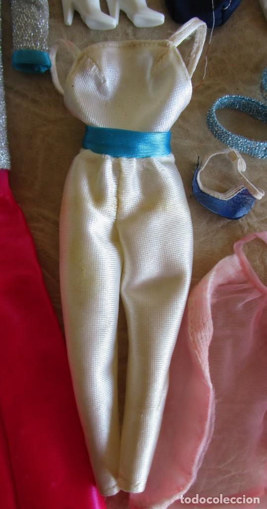 Barbie y Ken: LOTE ROPA BARBIE CONGOST 42 PIEZAS MUCHOS ACCESORIOS 2 KENS 5 CABEZAS BARBIE AÑOS 60 - Foto 33 - 158582596
