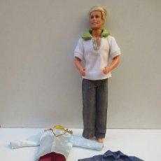Barbie y Ken: MUÑECO KEN RUBIO -1997 MATTEL INDONESIA - CONJUNTO SPORT POLO O CAMISA Y TRAJE PRÍNCIPE. Lote 157291594
