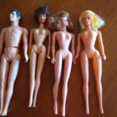 Barbie y Ken - Lote vintage de clones de Barbie años 60 y cabezas y accesorios - 158590453