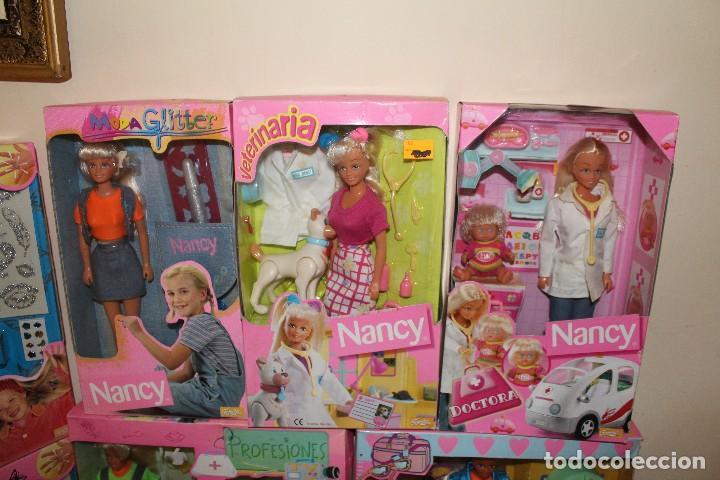 Barbie y Ken: LOTE DE 4 BARBIE 1 DISNE 7 NANCY ARMARIO SINDY VESTIDOR BARBIE VESTIDOS Y ACCESORIOS DECATALOGADO - Foto 9 - 160365910