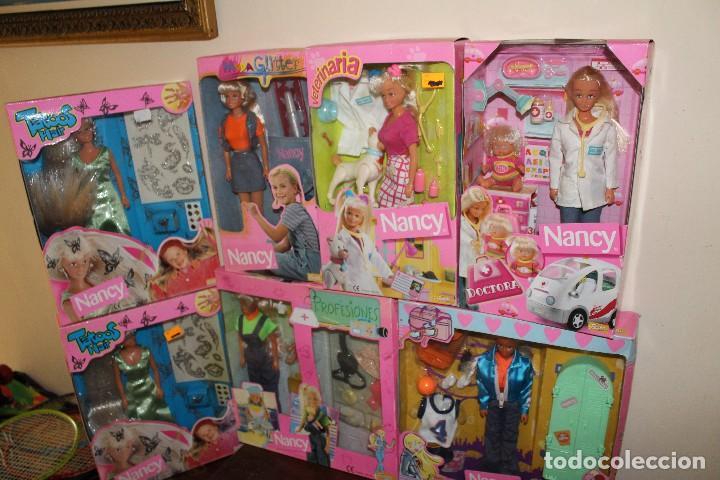 Barbie y Ken: LOTE DE 4 BARBIE 1 DISNE 7 NANCY ARMARIO SINDY VESTIDOR BARBIE VESTIDOS Y ACCESORIOS DECATALOGADO - Foto 10 - 160365910