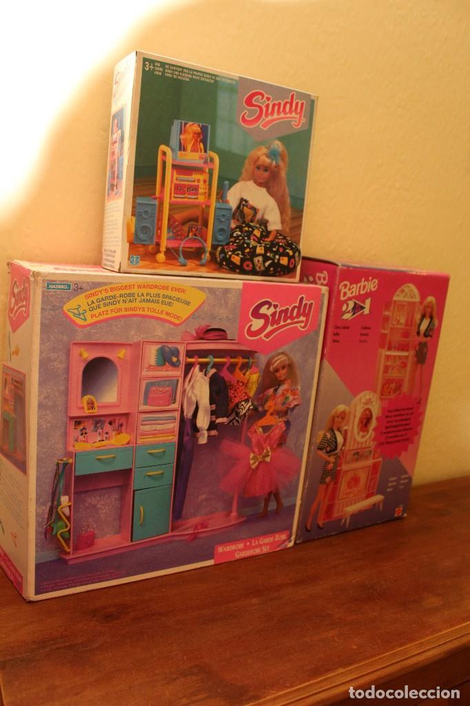 Barbie y Ken: LOTE DE 4 BARBIE 1 DISNE 7 NANCY ARMARIO SINDY VESTIDOR BARBIE VESTIDOS Y ACCESORIOS DECATALOGADO - Foto 11 - 160365910