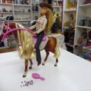 Barbie y Ken: BARBIE Y CABALLO COUNTRY (MUÑECA: MATTEL 1998-2006 INDONESIA, CABALLO: MATTEL 2005 CHINA). Lote 161378422