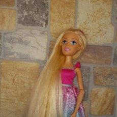 Barbie y Ken: BARBIE - BONITA BARBIE PELO A MECHAS TAMAÑO GRANDE MIDE UNOS 42 CM VER FOTOS! SM. Lote 162224722