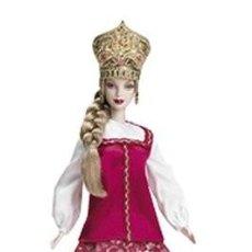 Barbie y Ken: BARBIE COLLECTOR PRINCESS OF RUSSIA SIN CAJA. Lote 163974582