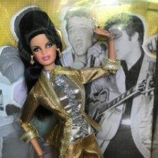 Barbie y Ken: BARBIE ELVIS DE COLECCIÓN DESCATALOGADA EN CAJA. Lote 166201198