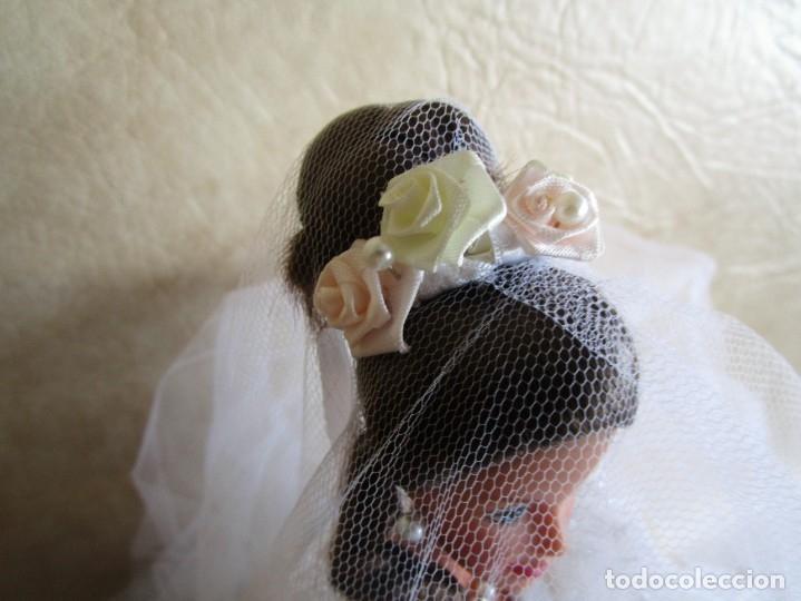 Barbie y Ken: muñeca barbie con vestido de novia y ramo mattel 1998 - Foto 12 - 29334698