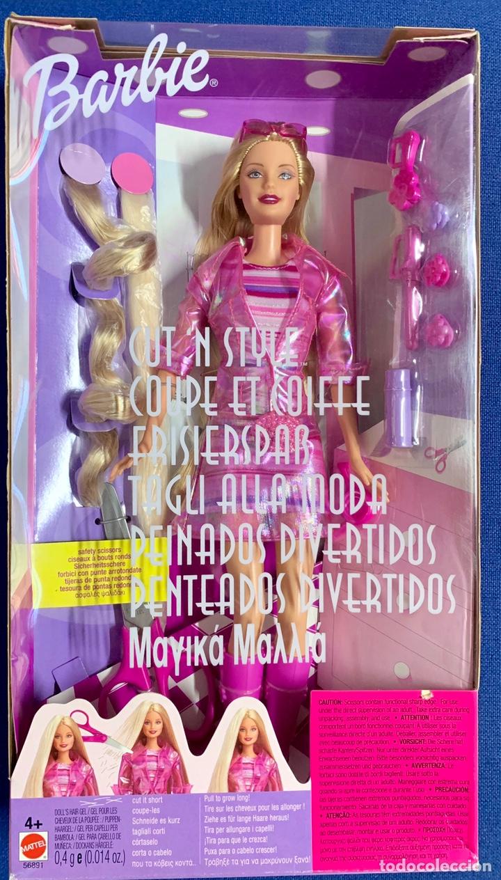 BARBIE. BARBIE PEINADOS DIVERTIDOS. NUEVA. (Juguetes - Muñeca Extranjera Moderna - Barbie y Ken)