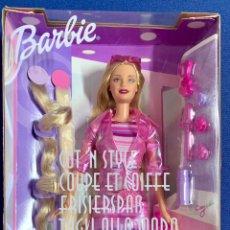 Barbie y Ken: BARBIE. BARBIE PEINADOS DIVERTIDOS. NUEVA.. Lote 168279449