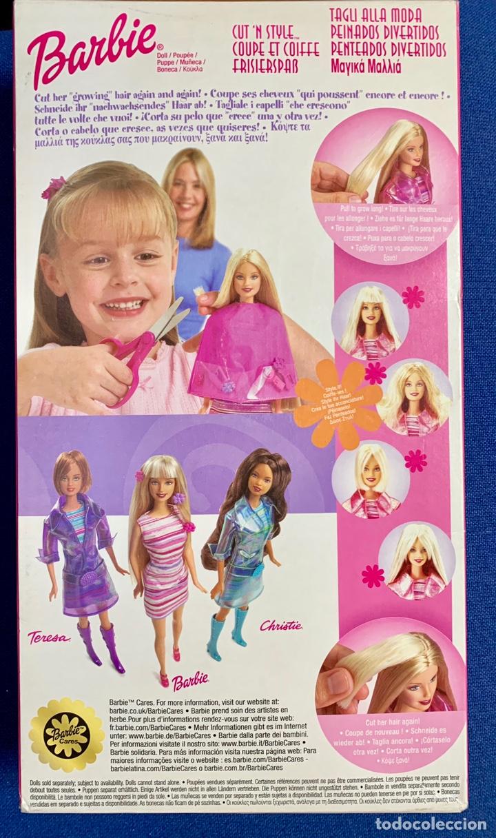 Barbie y Ken: BARBIE. Barbie peinados divertidos. NUEVA. - Foto 2 - 168279449