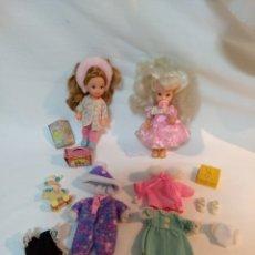 Barbie y Ken: GRAN LOTE DOS SHELLYS Y ROPA. MATTEL. AÑOS 90. Lote 168867884