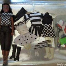 Barbie y Ken: SET DE MUÑECA CLONE DE BARBIE DE LOS 80 VINTAGE. Lote 169749330