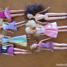 Barbie y Ken: LOTE 7 BARBIES. Lote 169817484