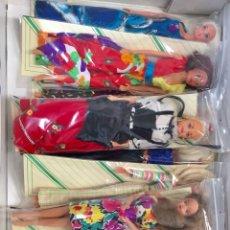 Barbie y Ken: 13 UNIDADES DIFERENTES DE BARBI,. Lote 170244382