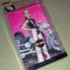 Barbie et Ken: MUÑECA BARBIE HARLEY DAVIDSON. Lote 170957867