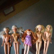 Barbie y Ken: LOTE DOS STEFFI LOVE Y TRES MUÑECAS MATTEL. Lote 170995730