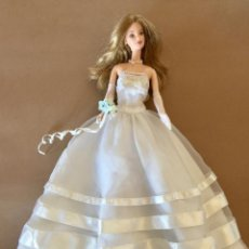 Barbie y Ken: BARBIE VESTIDO NOVIA MUNECA VINTAGE ORIGINAL MATTEL-MILLENIUM WEDDING THE BRIDAL COLLECTION 1999. Lote 171773570