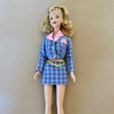 Barbie y Ken: BARBIE MUNECA VINTAGE ORIGINAL DE MATTEL CUERPO 1966 INDONESIA, CABEZA 1991. Lote 171773717